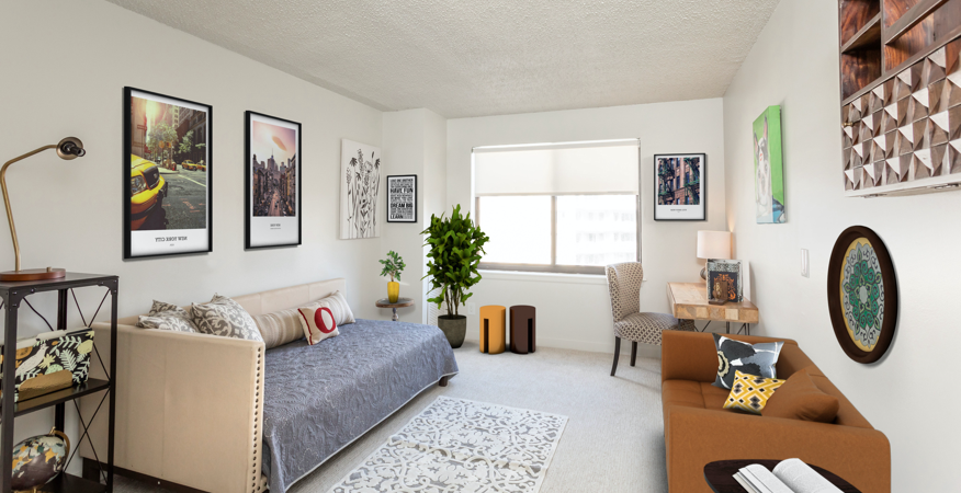 Model Apartment - Staged Room