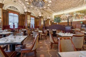 Elegantly Decorated Restaurant at Omni William Penn Hotel