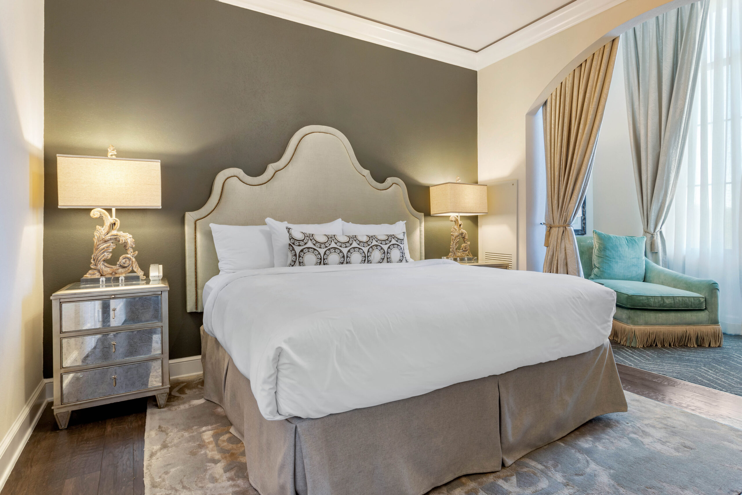 Elegantly Designed Hotel Guest Room