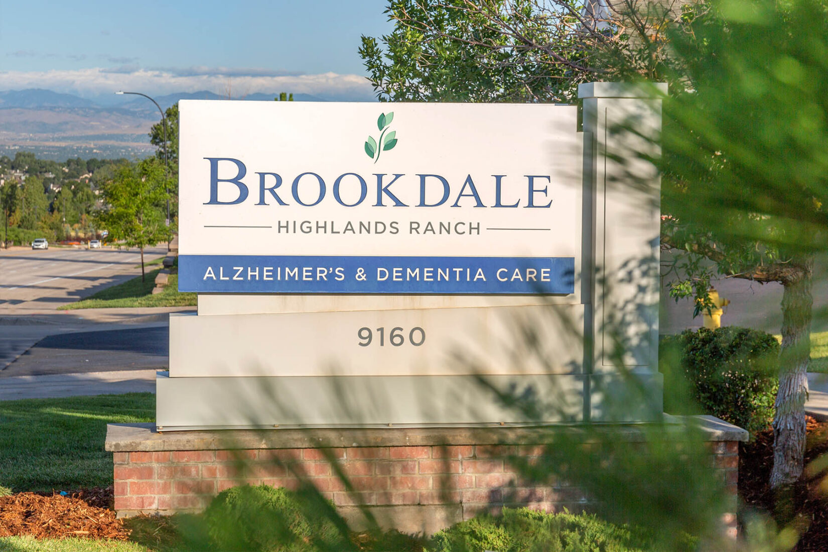 Brookdale Highlands Ranch - Alzheimer's and Dementia Care Sign