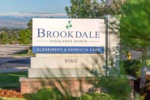 brookdale highlands ranch sign