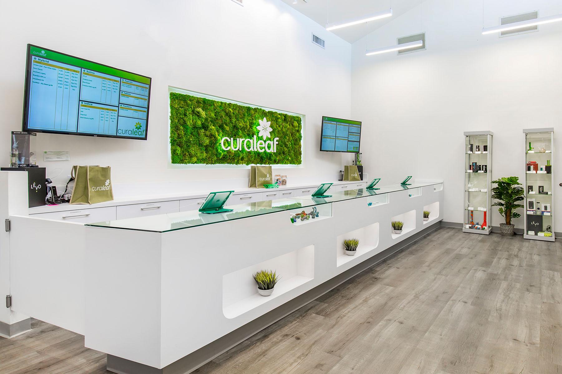 Curaleaf Store Interior