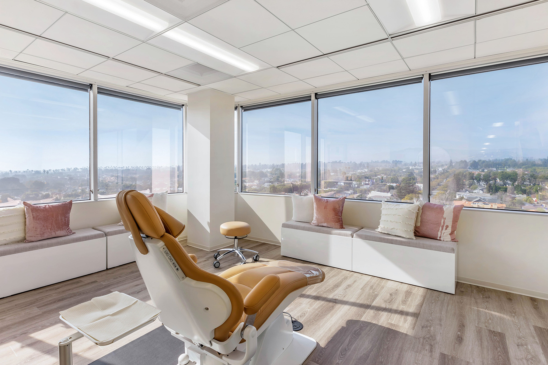 Upscale Dental Office with City Views