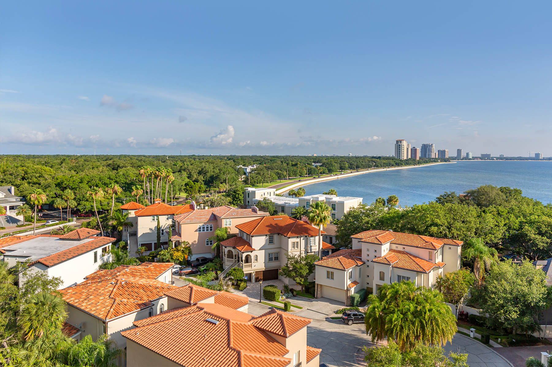 Aerial View of Brookdale Bayshore in Tampa
