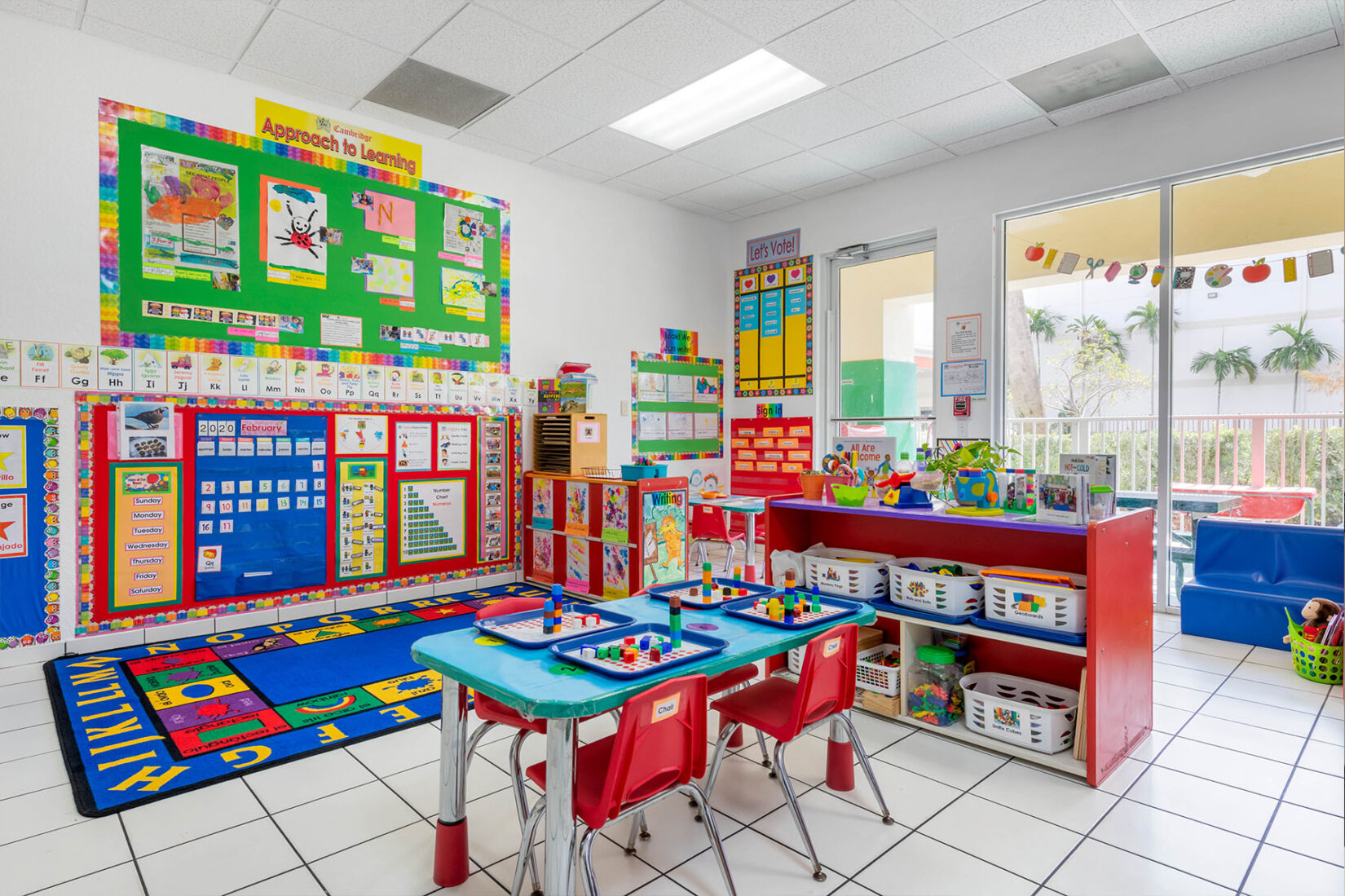 Children's Classroom Interior