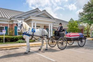 funeral home horse