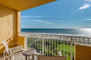hotel beach view balcony
