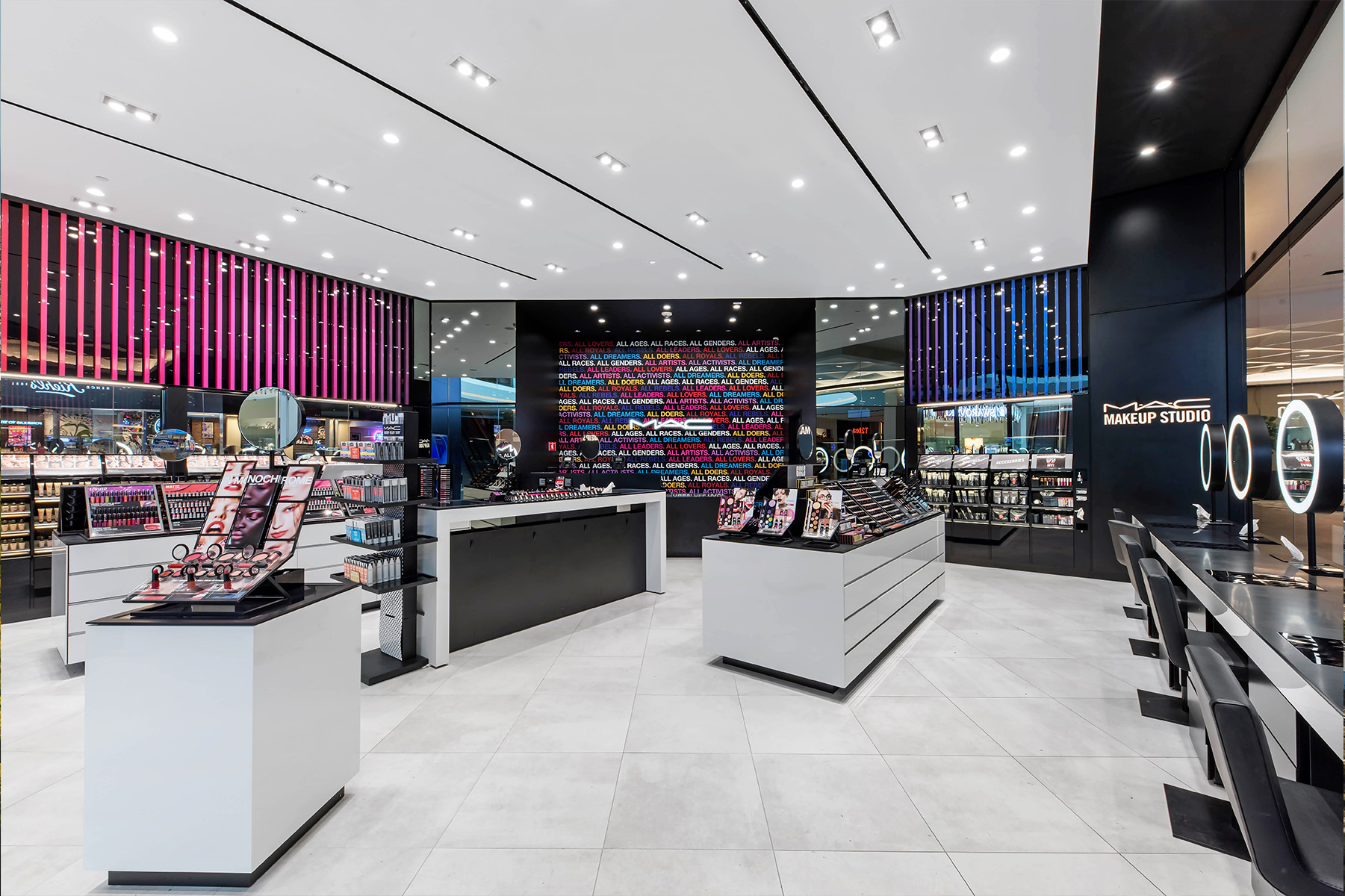 MAC Retail Store Interior