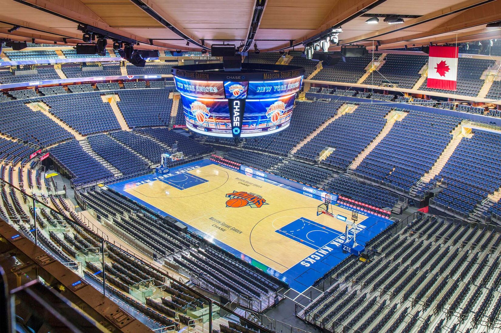 Madison Square Garden Interior View