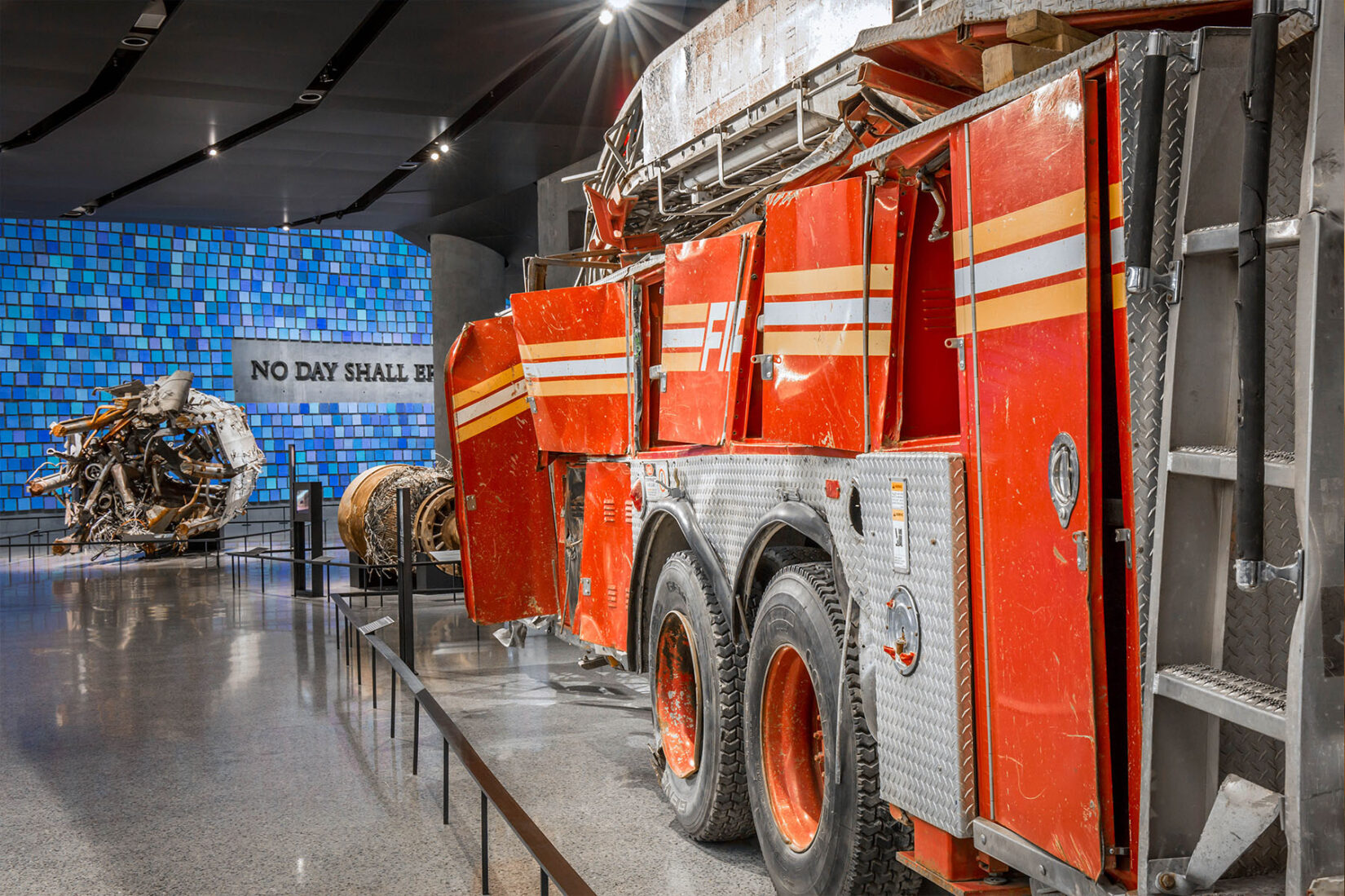 9/11 Museum Fire Truck