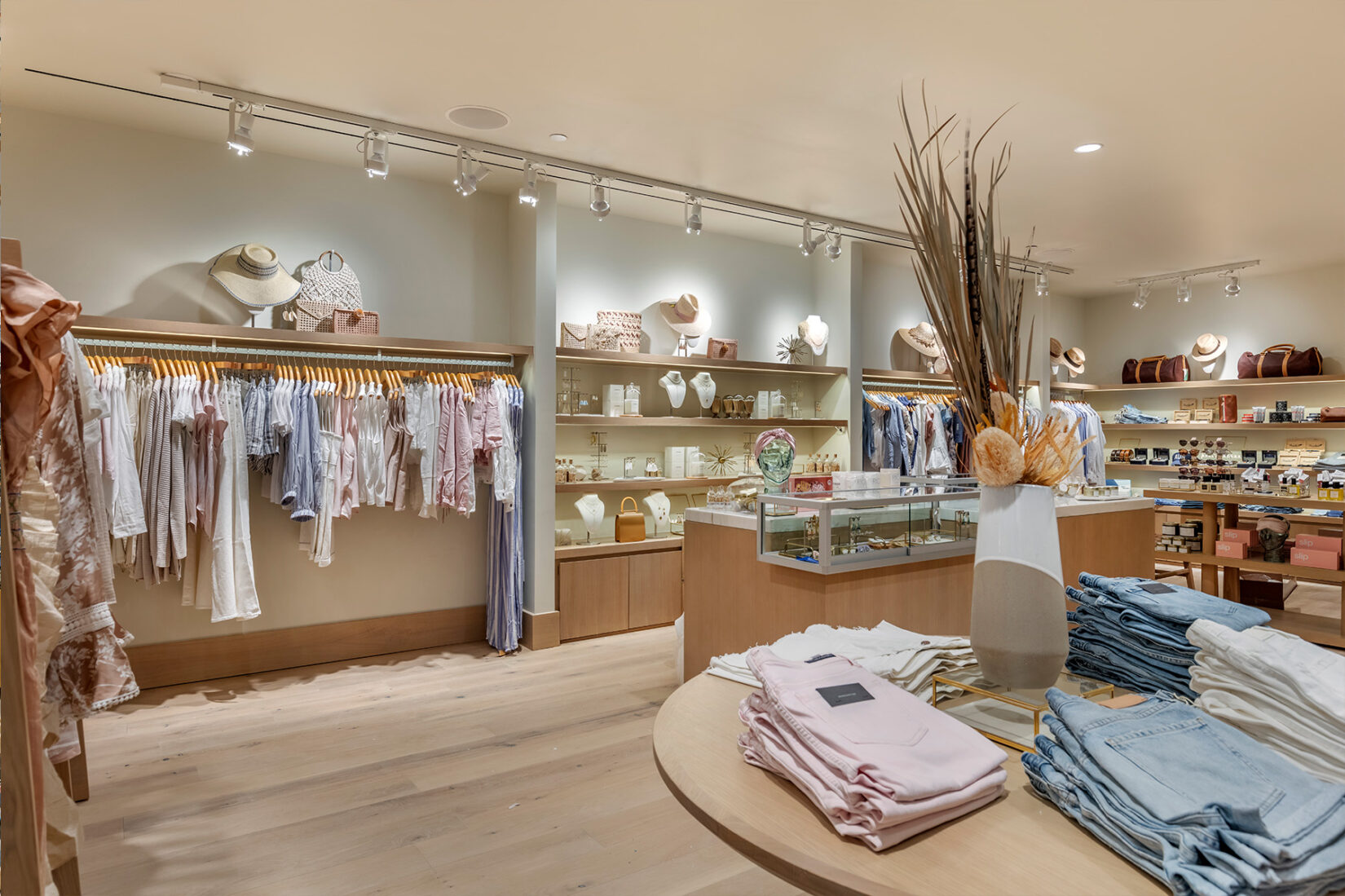 Spa Shop with Clothing and Accessories