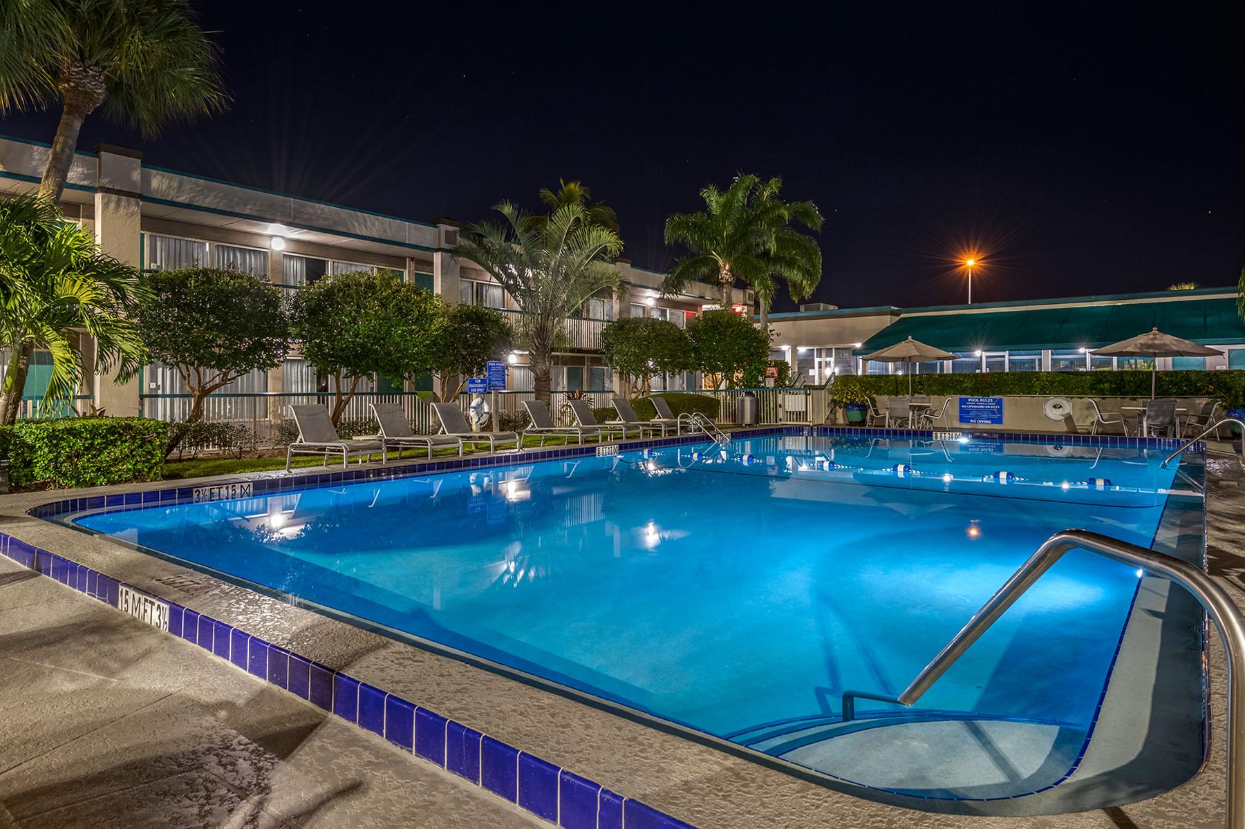 best western stuart pool night